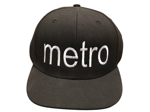 Metro Flex-fit Wool Umpire Cap