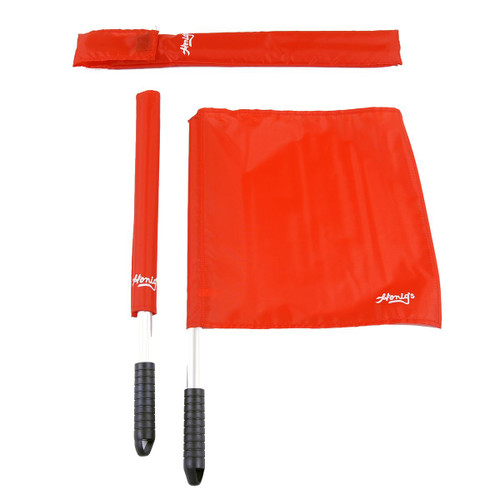 Honig's Red Deluxe Volleyball Linesman Flags