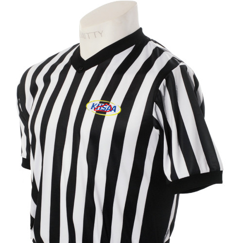 Kentucky KHSAA Embroidered Elite Side Panel Referee Shirt