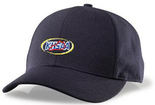 KHSAA Flex-fit 6-stitch Wool Combo Umpire Cap