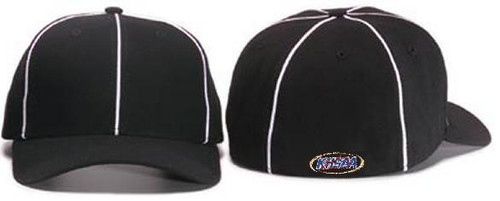 KHSAA Flex-fit Football Referee Cap