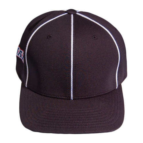NAIA Black Flex Fit Football Referee Cap