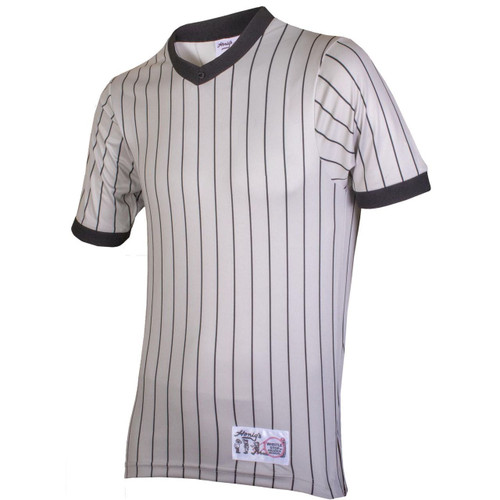 Honig's Gray Pinstripe Referee Shirt