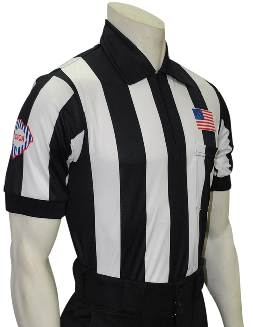 Smitty Official's Apparel South Carolina SCFOA Short Sleeve Football Referee Shirt