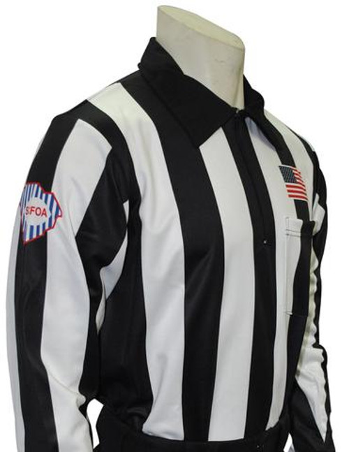 South Carolina SCFOA Long Sleeve Football Referee Shirt