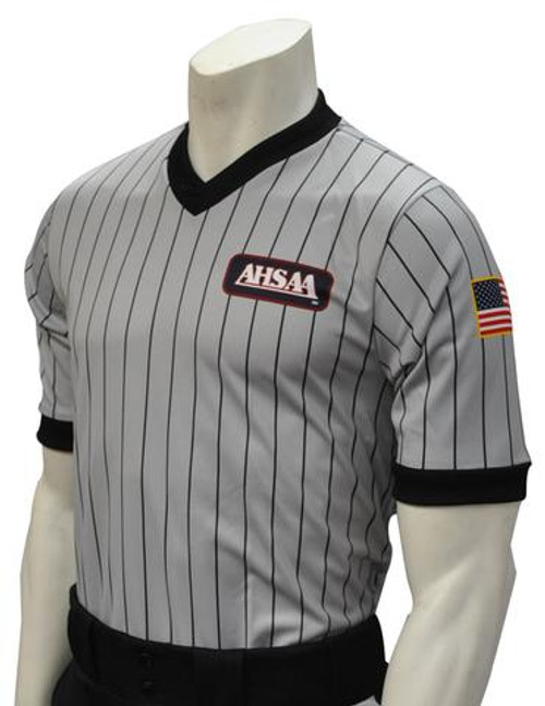 Alabama AHSAA Grey Referee Shirt