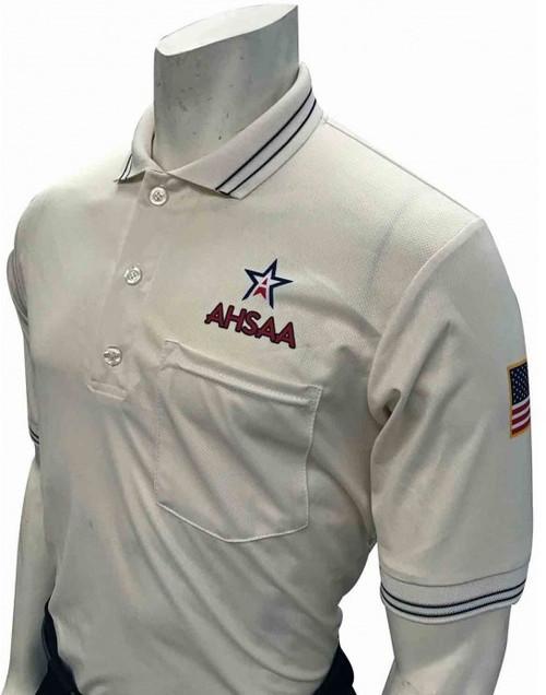 Smitty Official's Apparel Alabama AHSAA Dye Sublimated Cream Umpire Shirt