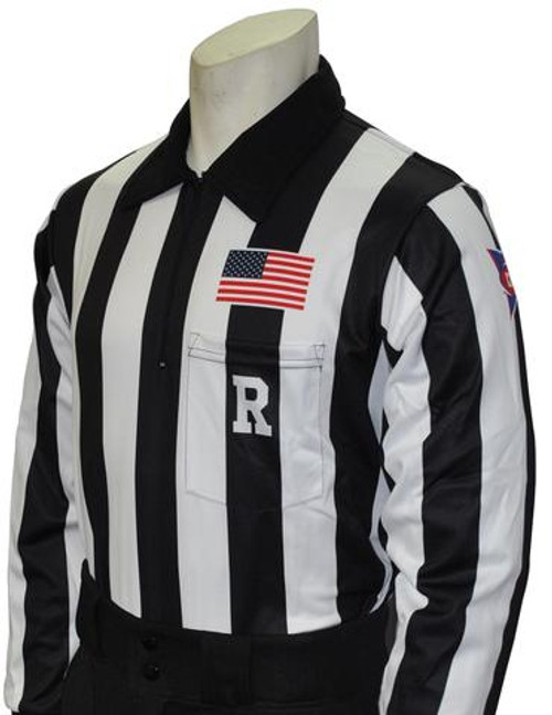 NCAA CFO® Dye Sublimated Long Sleeve Football Referee Shirt