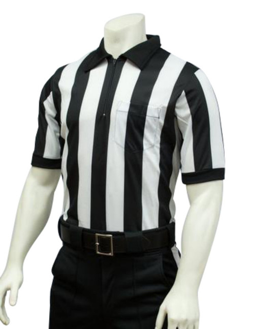 Smitty Ultra Mesh 2 inch Stripe Football Referee Shirt