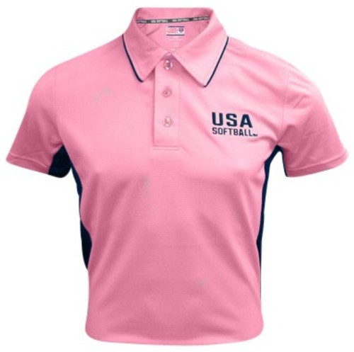 USA Softball Pink Umpire Shirt