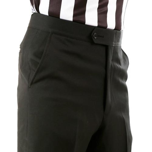 Smitty Flat Front Slash Pocket Referee Pants