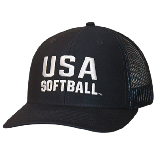 USA Softball Mesh Adjustable 8-Stitch Summer Cap
