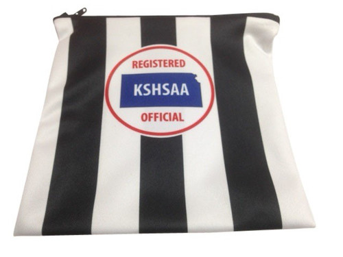 Kansas KSHSAA Whistle/Accessory Bag