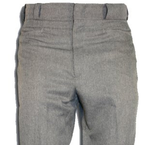 Smitty Heather Grey Flat Front Umpire Base Pants
