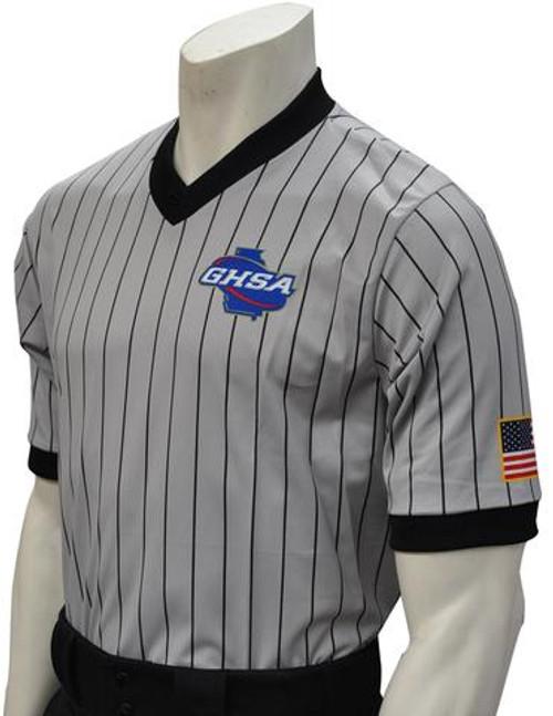 Georgia GHSA Dye Sublimated Wrestling Referee Shirt