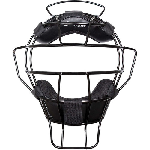 Champro Sports Lightweight Black Frame Umpire Mask