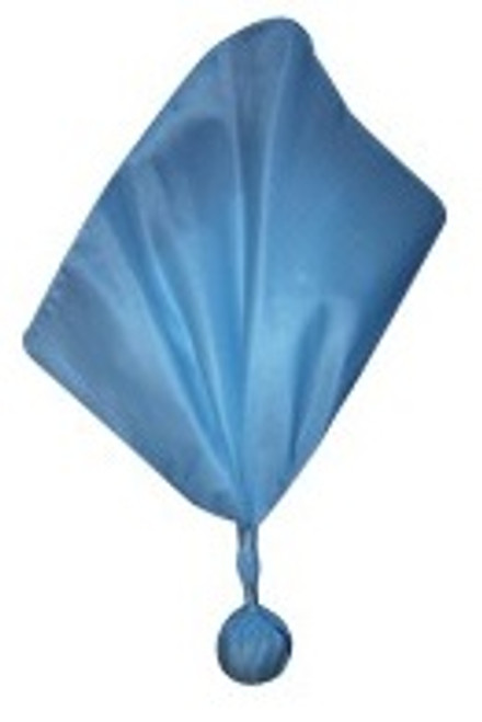 Blue Football Referee Flag