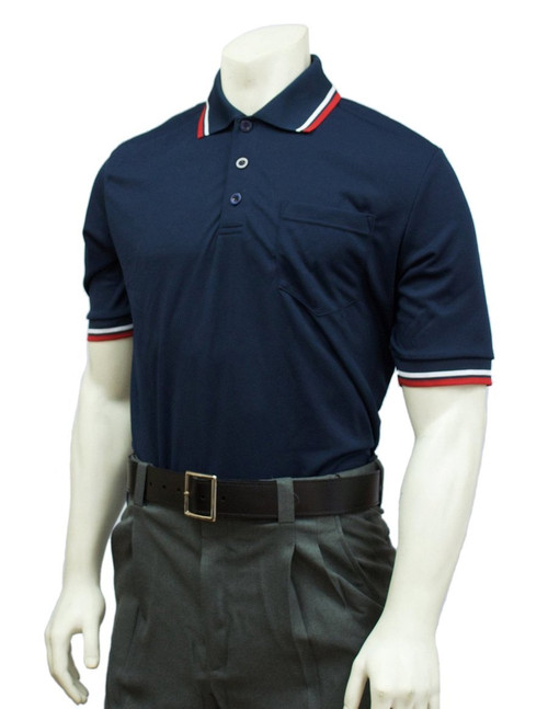 Smitty Official's Apparel Navy Ultra Mesh Umpire Shirt