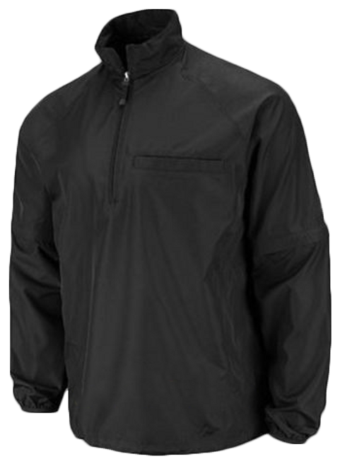 Black Convertible Umpire Jacket