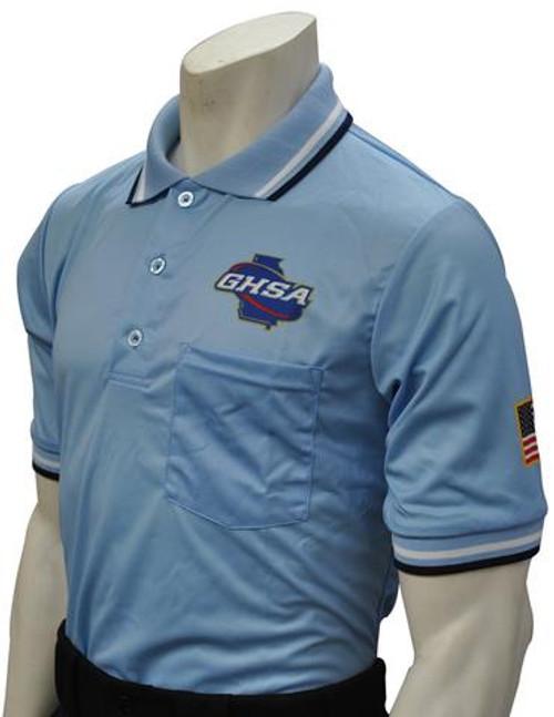 Georgia GHSA Dye Sublimated Powder Umpire Shirt