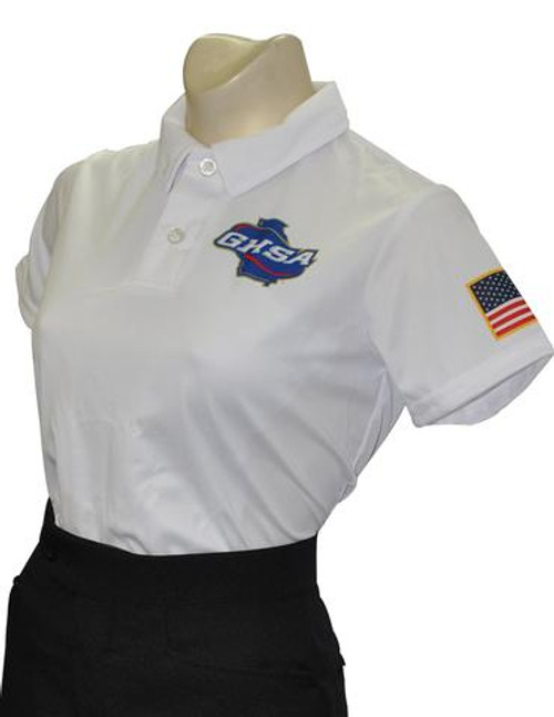 Georgia GHSA Women's Dye Sublimated Volleyball & Swimming Referee Shirt