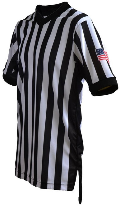 Smitty Dye Sublimated Body Flex® Side Panel Basketball Referee Shirt.