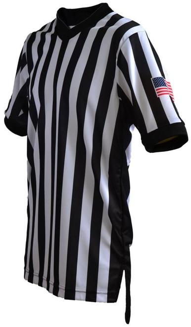 Smitty Dye Sublimated Body Flex® Side Panel Basketball Referee Shirt.