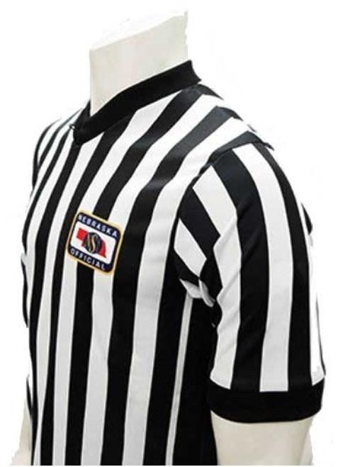 Nebraska NSAA Dye Sublimated Basketball Referee Shirt