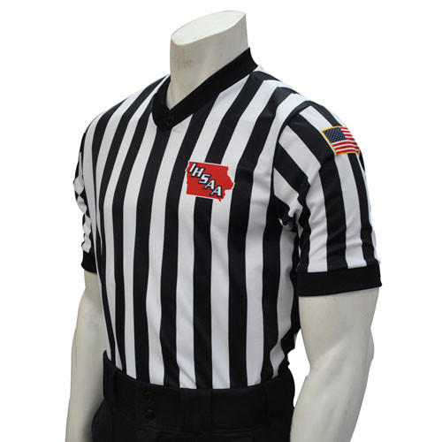Smitty Iowa Dye Sublimated IHSAA Basketball Referee Shirt