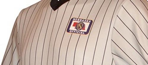 Nebraska NSAA Embroidered Elite Wrestling Referee Shirt
