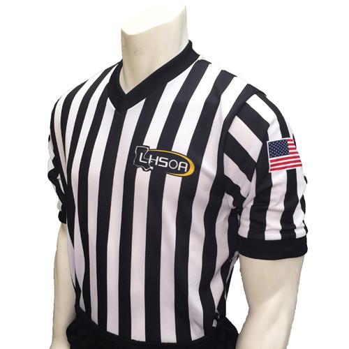 Louisiana LHSOA Dye Sublimated Men's Basketball Referee Shirt