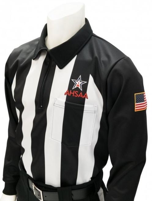 Alabama AHSAA Foul Weather Long Sleeve Football Referee Shirt