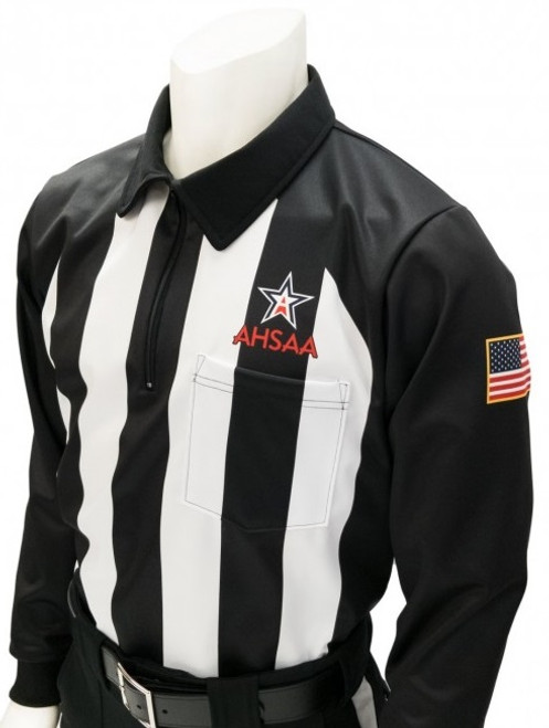 Alabama AHSAA Foul Weather Long Sleeve Football Referee Shirt