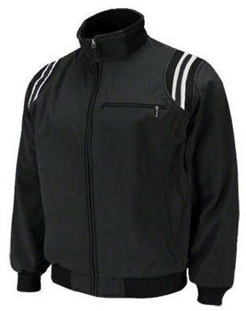Honig's Therma Base Black Umpire Jacket with White Trim