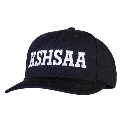 Kansas KSHSAA Fitted Navy Umpire Cap