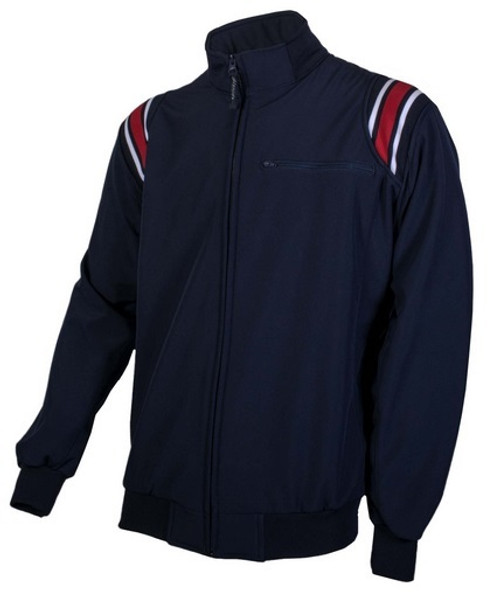 Honig's Themal Base Navy Umpire Jacket with Red/White Trim