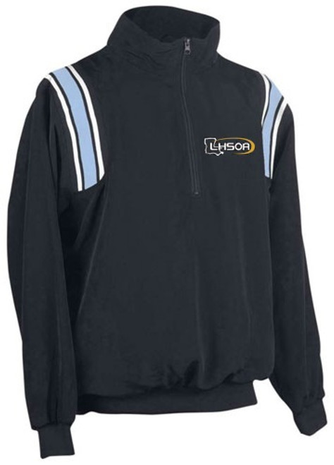 Louisiana LHSOA Softball Umpire Pullover Powder/White Trim
