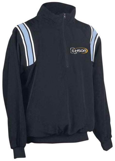Louisiana LHSOA Softball Umpire Pullover Powder/White Trim
