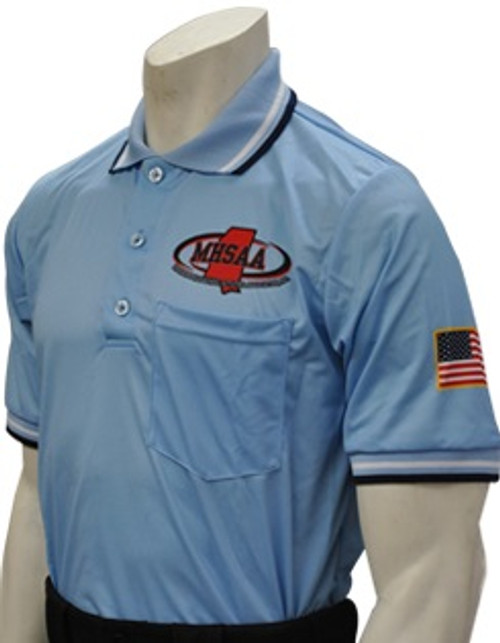 Mississippi MHSAA Dye Sublimated Powder Umpire Shirt