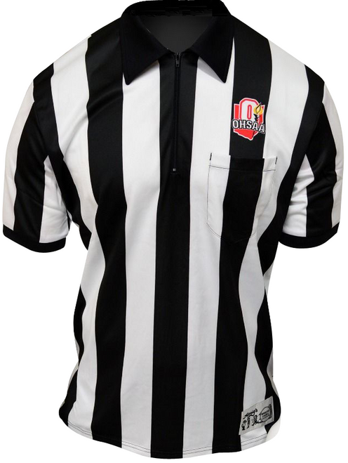 Honig's Ohio OHSAA Ultra Tech Dye Sublimated Short Sleeve Football Referee Shirt