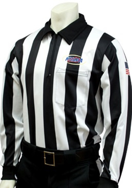 Smitty Official's Apparel Kentucky KHSAA Foul Weather Long Sleeve Football Referee Shirt