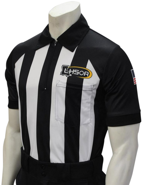 Smitty Official's Apparel Louisiana LHSOA Dye Sublimated Short Sleeve Football Referee Shirt