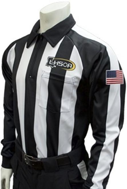 38d09ef5b Louisiana LHSOA Foul Weather Long Sleeve Football Referee Shirt