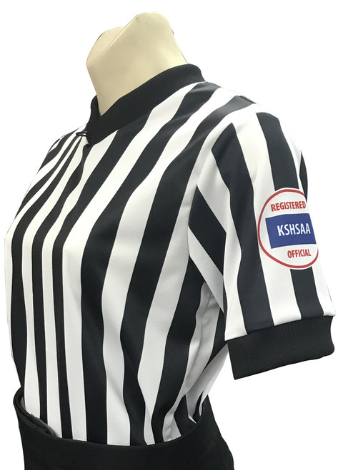 Smitty Kansas KSHSAA Women's Basketball Referee Shirt