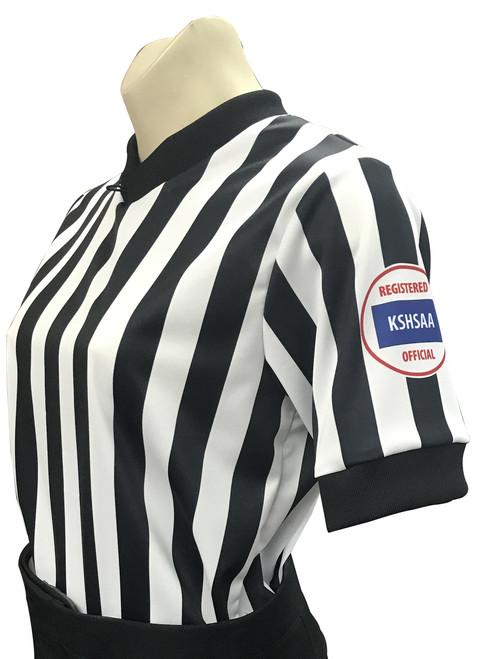 Smitty Kansas KSHSAA Women's Basketball Referee Shirt