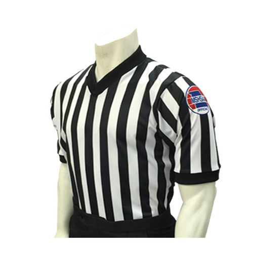 Missouri MSHSAA Men's Side Panel Basketball Referee Shirt
