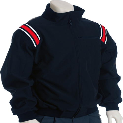 Illinois IHSA Navy with Red Trim Therma Base Umpire Jacket