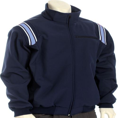 Illinois IHSA Navy with Powder Trim Therma Base Umpire Jacket
