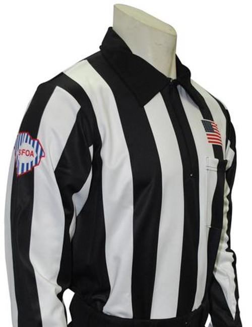 South Carolina SCFOA Foul Weather Long Sleeve Football Referee Shirt