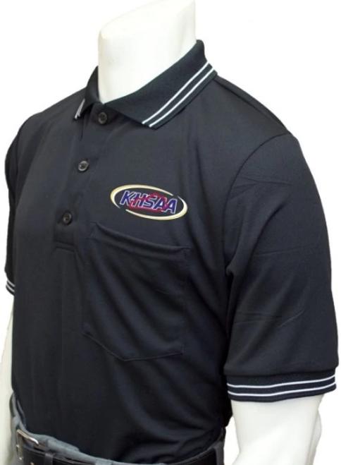 Kentucky KHSAA Black Umpire Shirt